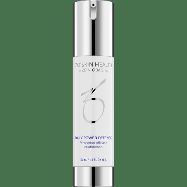 Produktbild eines Pumpspenders mit ZO Skin Health Daily Power Defense