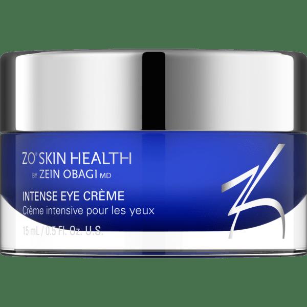 Produktbild eines Tiegels mit ZO Skin Health Intense Eye Creme