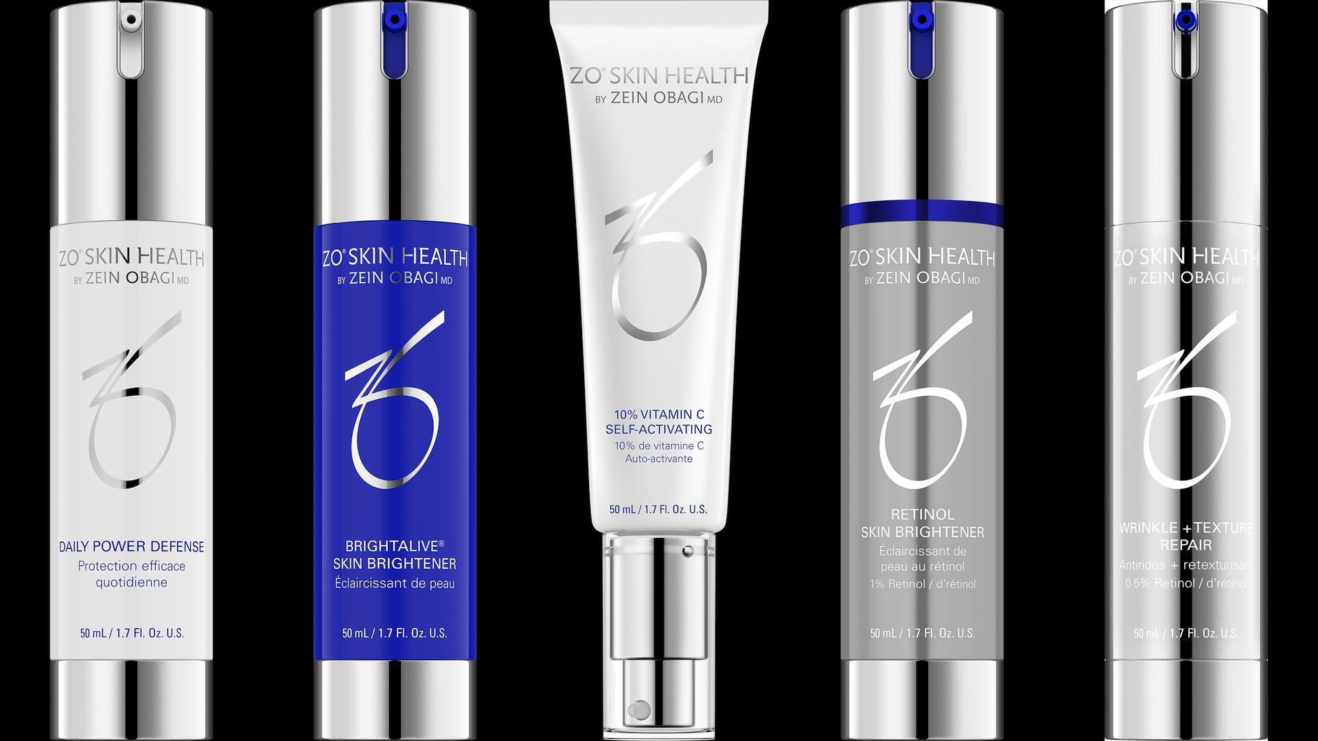 ZO SKIN HEALTH - Produkte mit und ohne Retinol zur Pigmentaufhellung und für einen ebenmäßigen Teint.